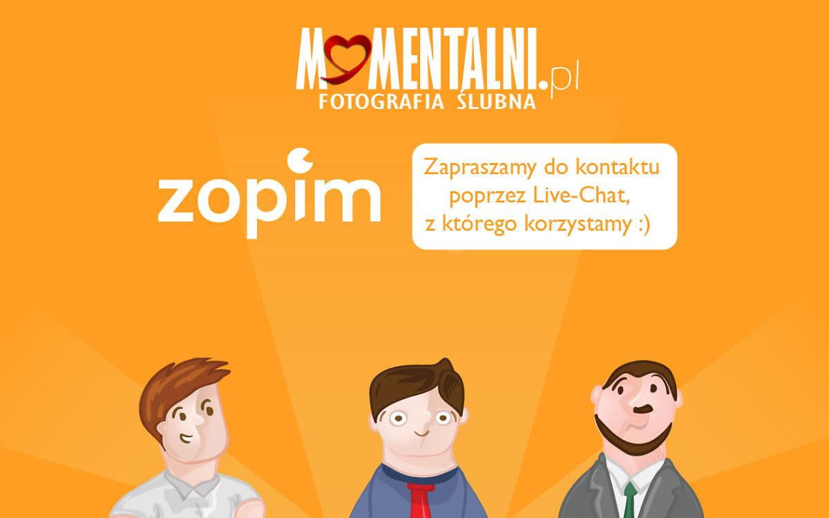 Live-Chat na stronie Momentalni.pl