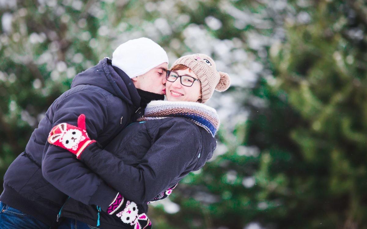 Karolina + Jacek - Zimowa Sesja Narzeczeńska
