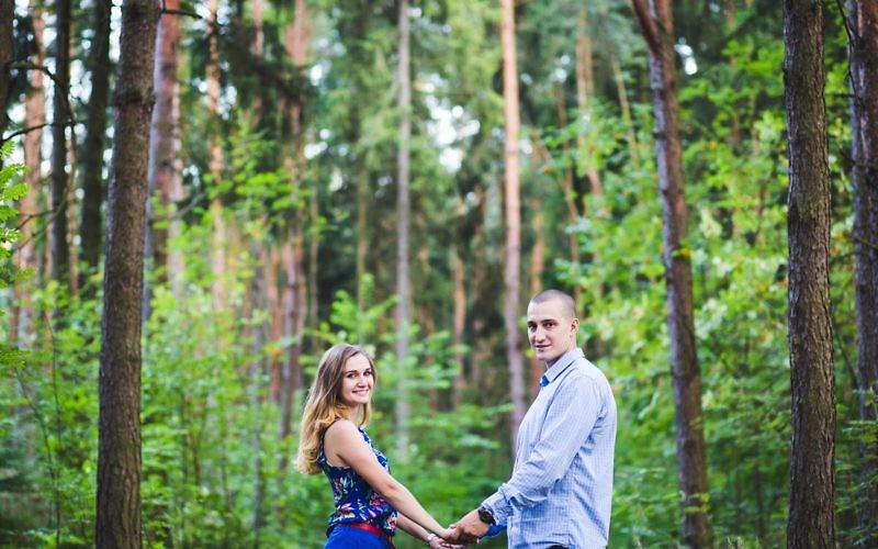 Dominika + Piotr - Sesja narzeczeńska