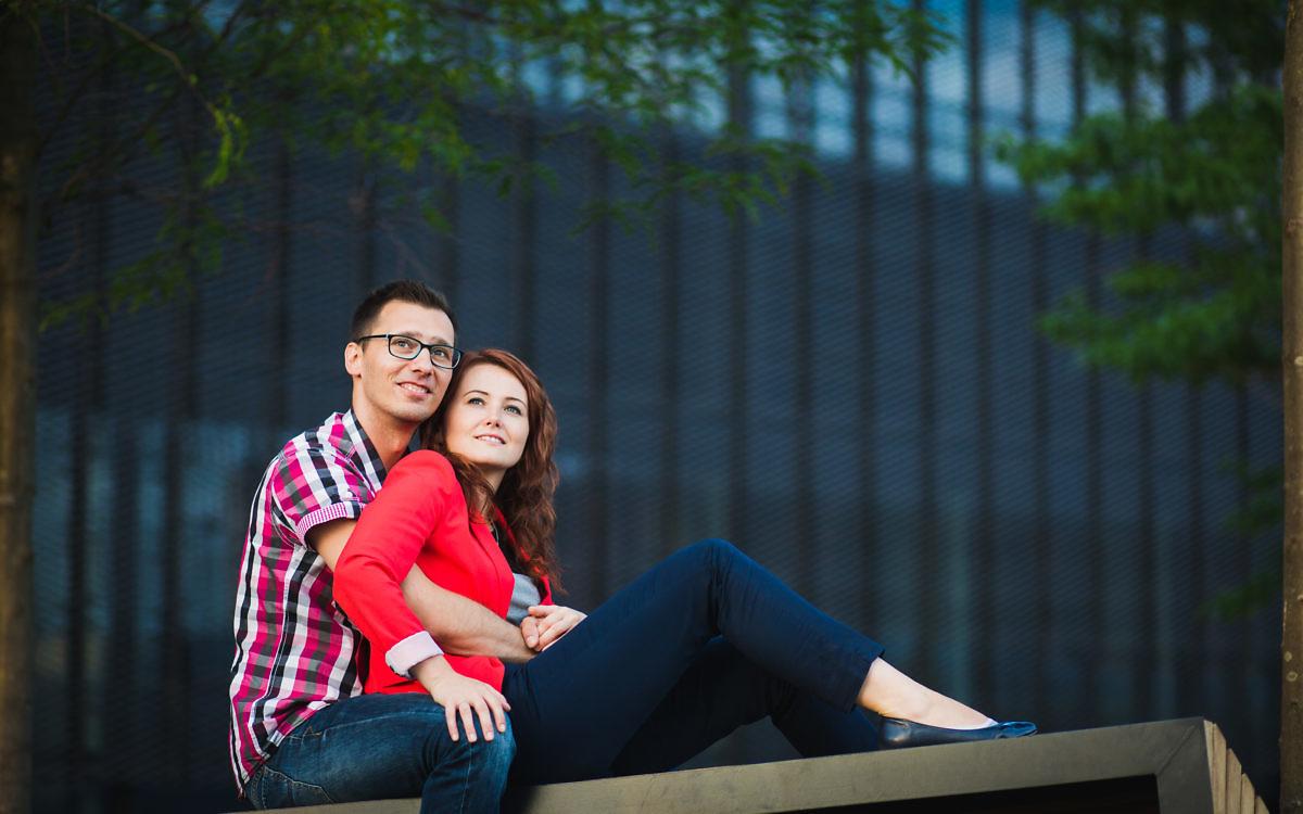 Ania i Adam - Sesja narzeczeńska