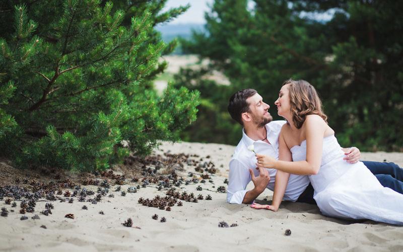 Ola i Ariel - Plener poślubny