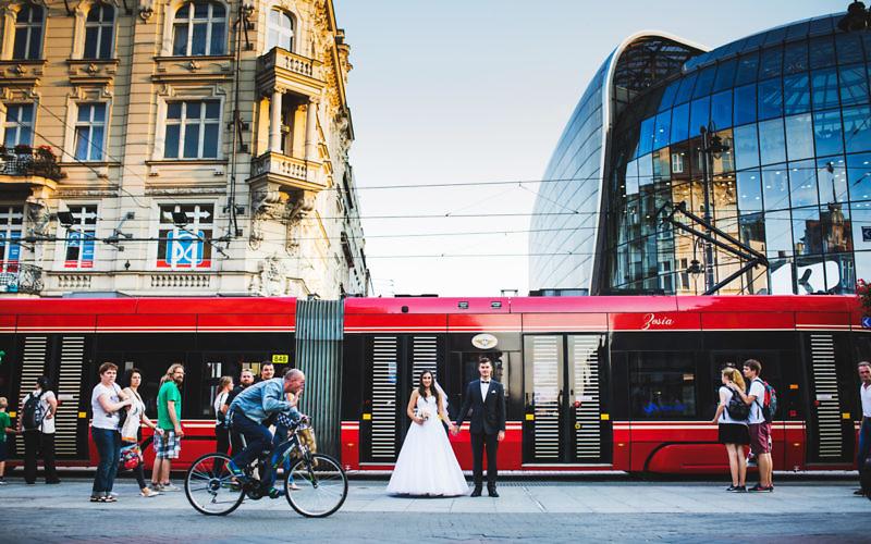 Weronika + Adrian - Plener poślubny w Katowicach