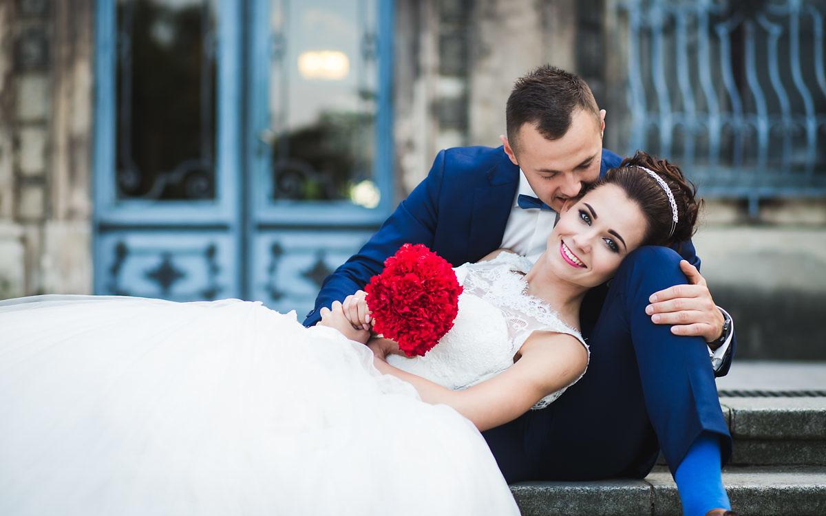 Sonia + Mateusz - Plener poślubny na zamku w Mosznej
