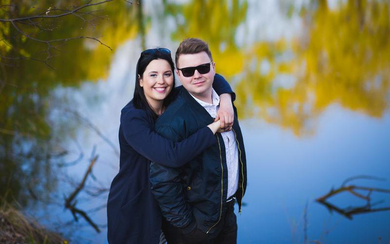 Martyna + Rafał - Sesja narzeczeńska w Katowicach