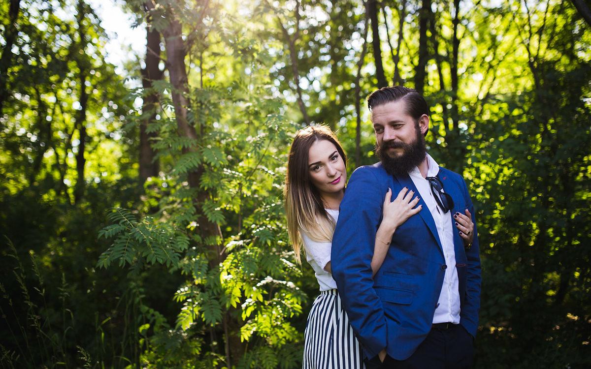 Aleksandra + Michał - Sesja narzeczeńska