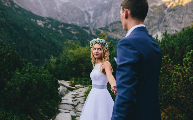Paulina + Paweł - Plener poślubny nad Morskim Okiem
