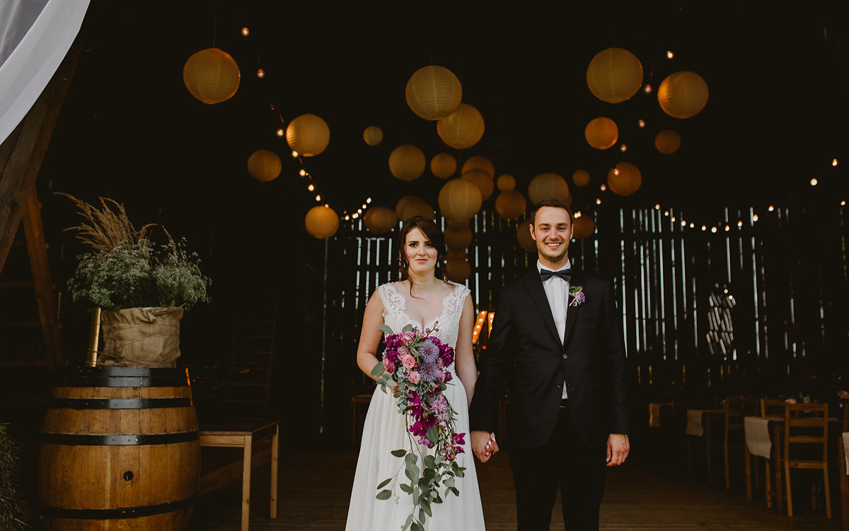 Ania + Maciek - Reportaż ślubny w klimacie rustykalnym