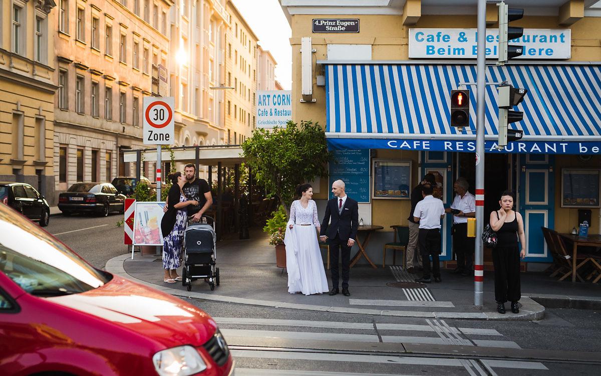 Joanna + Przemysław - Plener poślubny w Wiedniu