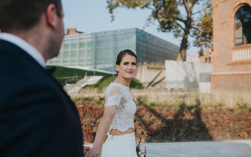 Klementyna + Adrian - Plener poślubny Katowice/Pustynia błędowska