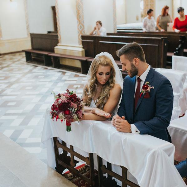 Martyna + Adam - reportaż ślubny