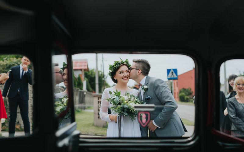 Patrycja + Bartek - plenerowy ślub w Sanktuarium Matki Bożej Skałkowej