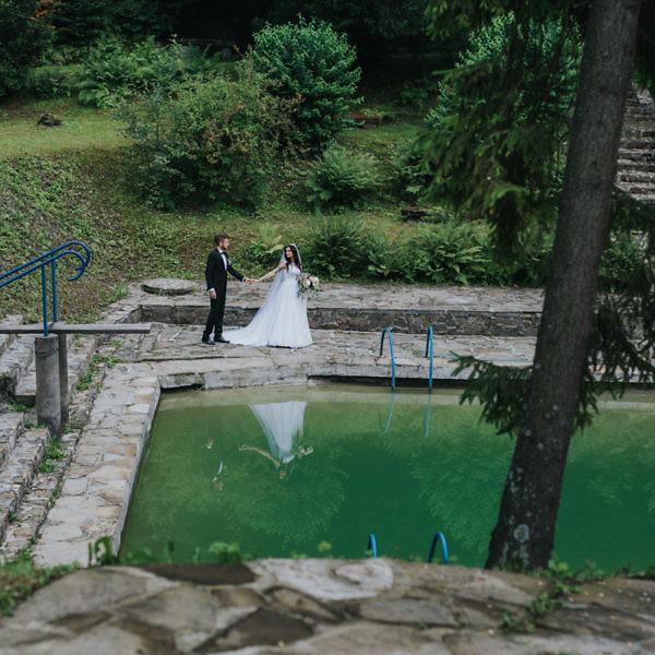 Klaudia + Andrzej - Plener poślubny w Lanckoronie