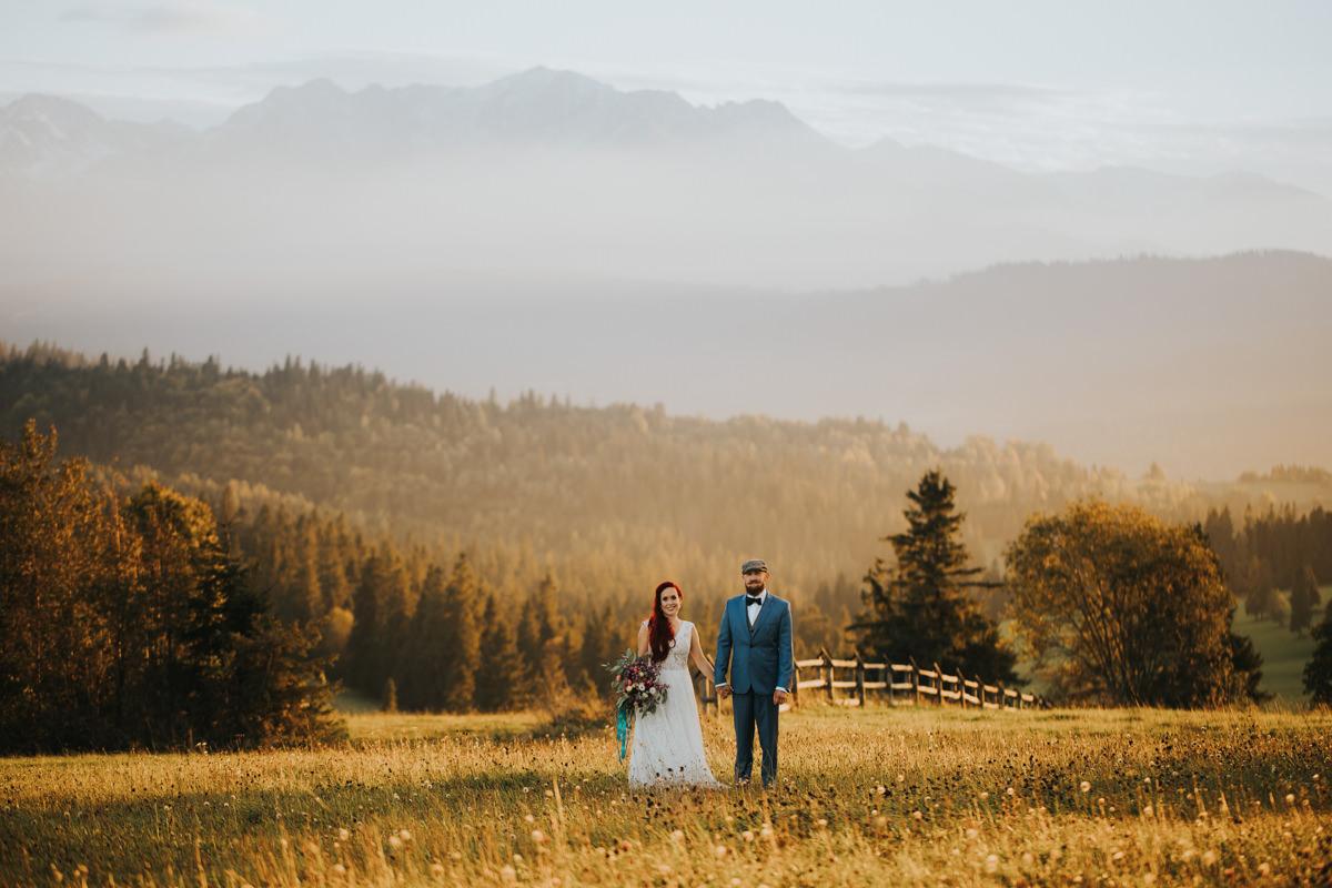 Najpiękniejsza sesja Ślubna w Tatrach
