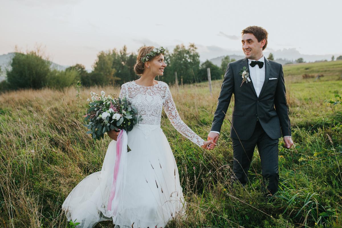 Najlepsze zdjęcia ślubne w Beskidach
