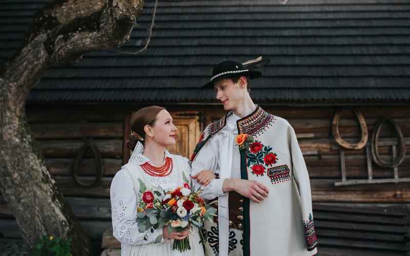 Joanna + Paweł - reportaż ślubny na Podhalu