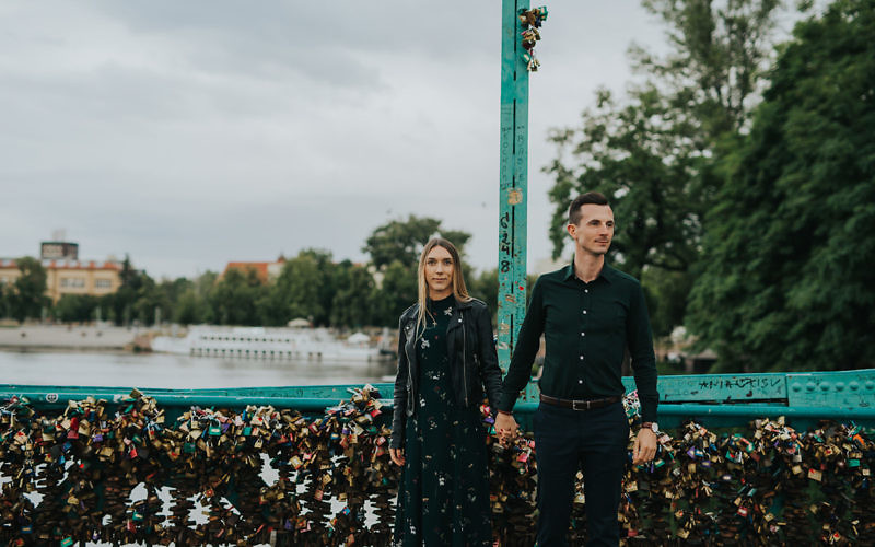 Marta + Marcin - sesja narzeczeńska we Wrocławiu